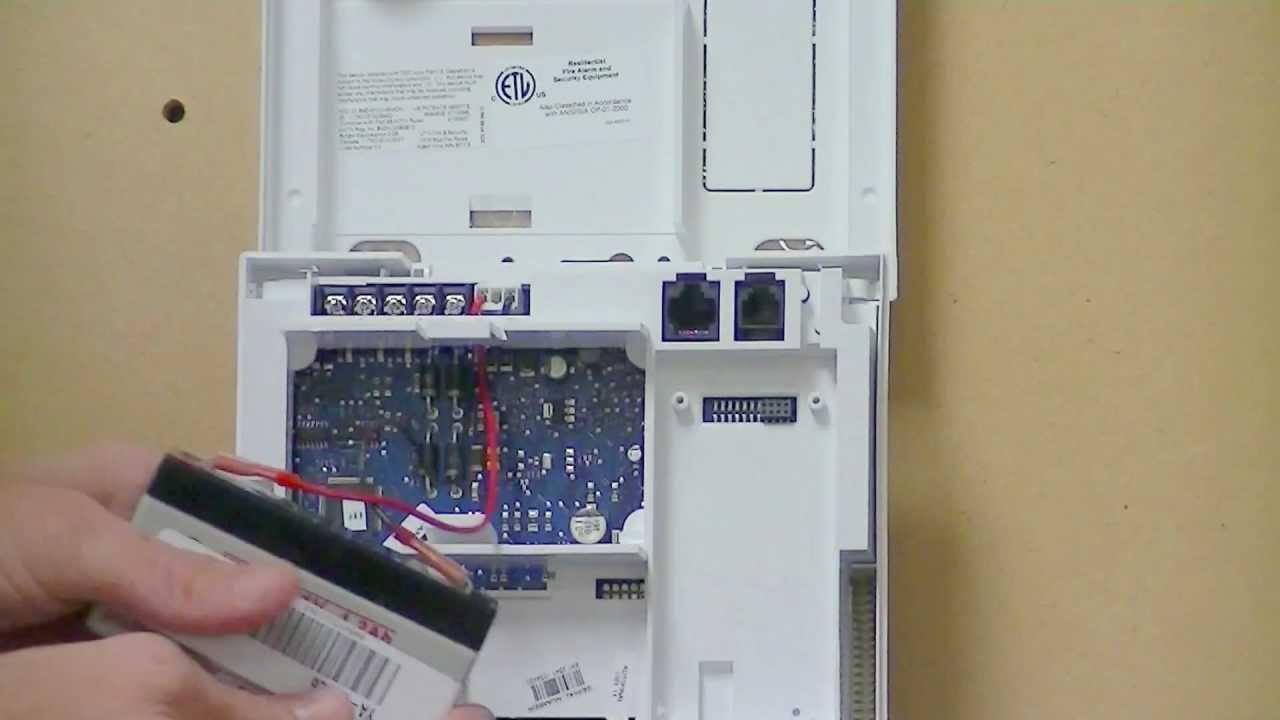 Battery Change Simon Xt Alarm Panel