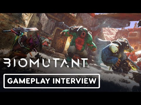 Biomutant - Exclusive Gameplay Interview | Summer of Gaming 2020
