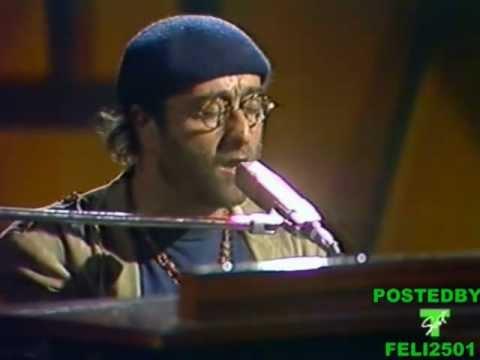 Lucio Dalla(live video 1980) Cosa sarà - con Ricky Portera