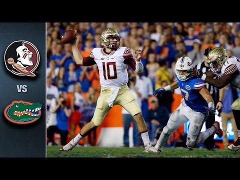 Florida State vs. Florida Football Highlights (2015)
