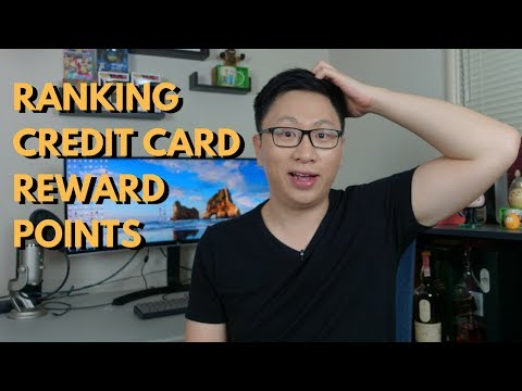 Ranking Credit Card Reward Points 2018 (Tier System Explained)