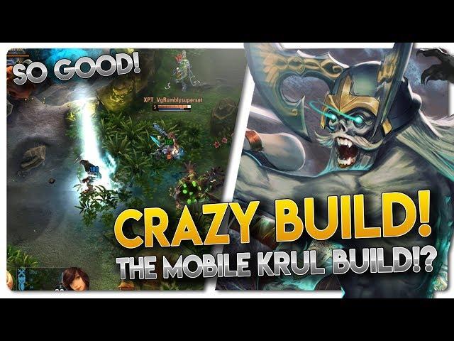 CRAZY NEW KRUL BUILD!! Vainglory 3v3 [Ranked] Gameplay - Krul |WP| Jungle Gameplay