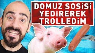 DOMUZ SOSİSİ YEDİREREK TROLLEDİM !