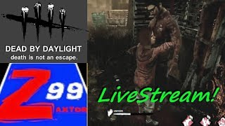 Dead by daylight with friends! - livestream! - come chill and hang out!  - say hello!