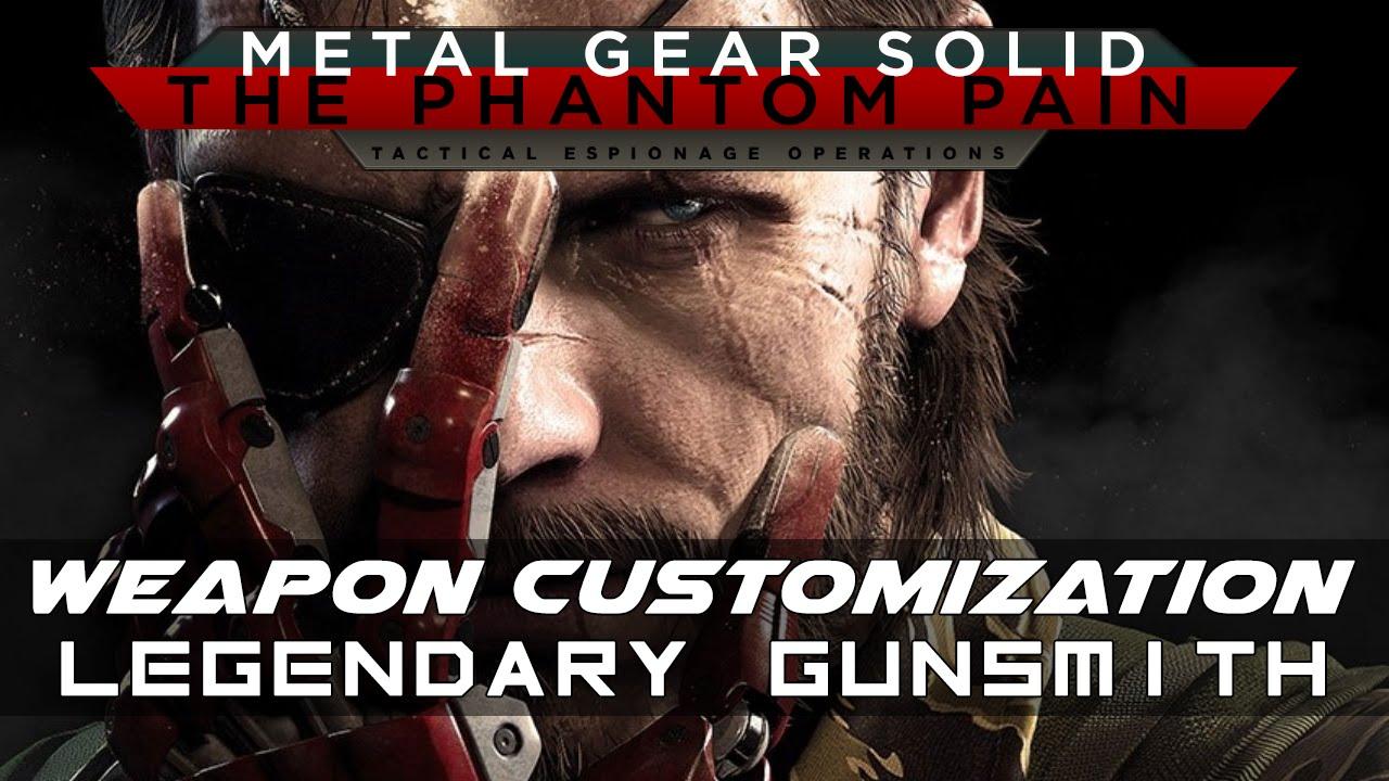 Weapon Customization   MGSV: The Phantom Pain