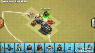 War base th 9 anti th 10 anti 3 star terbaik dan terkuat new 2017