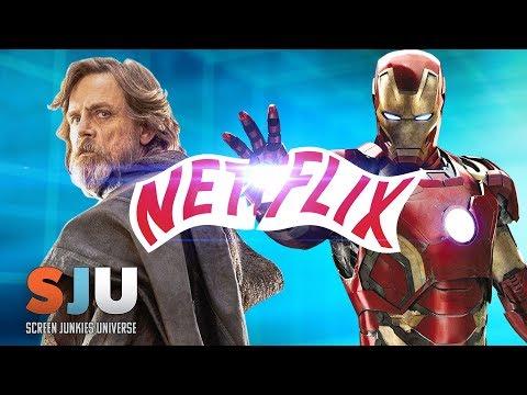 Download Youtube: Marvel & Star Wars Officially OFF Netflix - SJU