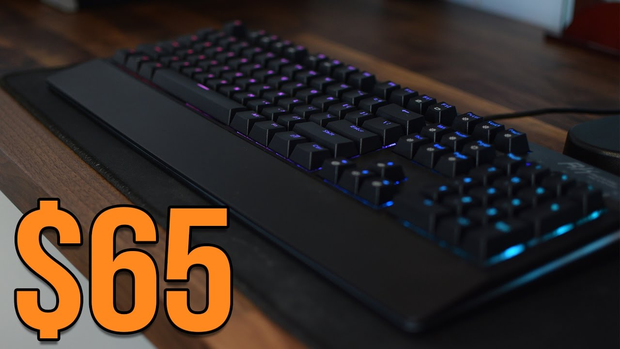e4173f06298 $65 Full RGB Mechanical Keyboard - Royal Kludge RGB - YouTube