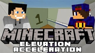 Minecraft Parkour: Elevation Acceleration #1 w/ Undecided