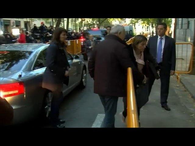 Каталонские политики предстали перед судом