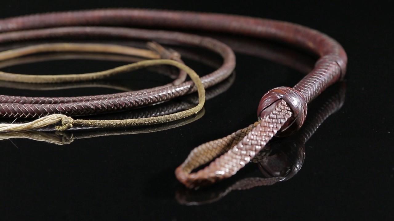 color brown 3.3 feet long whip 100 cm long Bullwhip UK