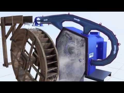 ANDRITZ HYDRO Turbine animation - Pelton