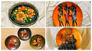 Easy Craft on Old Plates