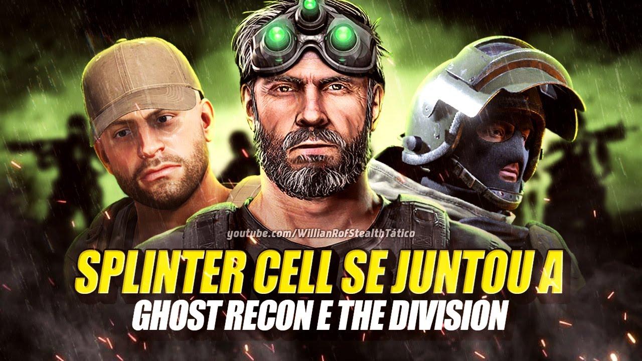 Splinter Cell, Ghost Recon e The Division juntos!