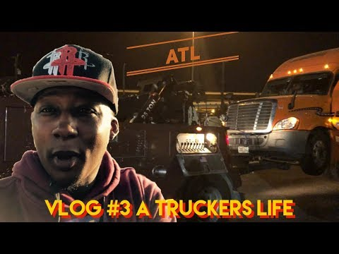 Vlog #3 / Life On The Road / A Truckers Life