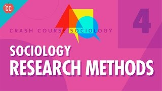 Sociology Research Methods: Crash Course Sociology #4 thumbnail