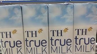 Vlog 75 TH True Milk Sữa tươi tiệt trùng