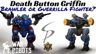 War Robots Death Button Griffin Brawler or Guerrilla Fighter