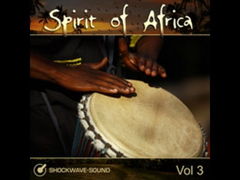 """Royalty Free African Music collection: """"Spirit of Africa, vol. 3"""""""