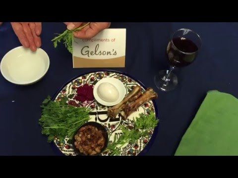 The Meaning Behind a Passover Seder Plate | Gelson