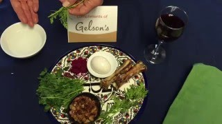 The Meaning Behind a Passover Seder Plate | Gelson's Markets