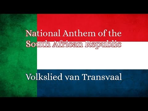 National Anthem Of The South African Republic- Volkslied Van Transvaal (1930s Recording)