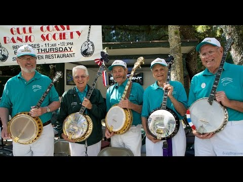 The Gulf Coast Banjo Society at Snook Haven in 4k UHD