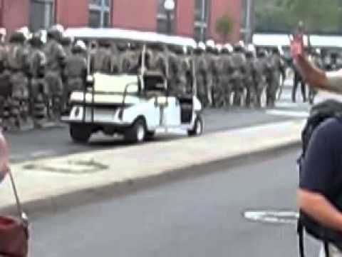 National Guard Police State