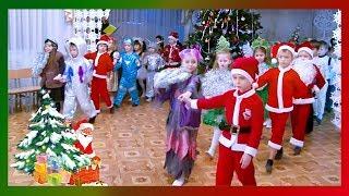 Красивый вход детей на новогодний утренник д/с №38 г.Павлодар