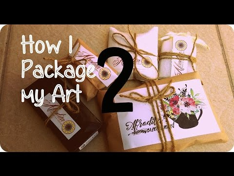 How i package my jewelry - Packaging my jewelry and branding
