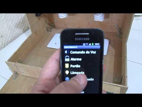 Arduino Wifi Ethernet:Aplicativo Android