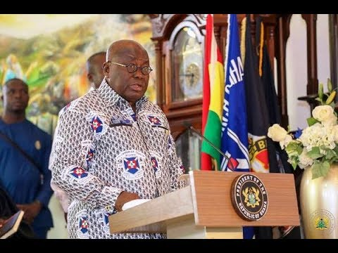 President Akufo-Addo: Help build corrupt free Ghana