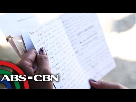 A letter from Mary Jane Veloso
