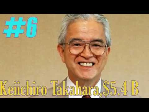 top 10 richest People in Japan in 2015