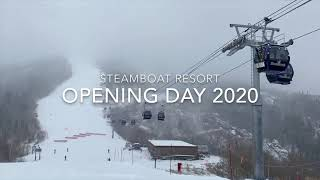 Opening Day at Steamboat Resort