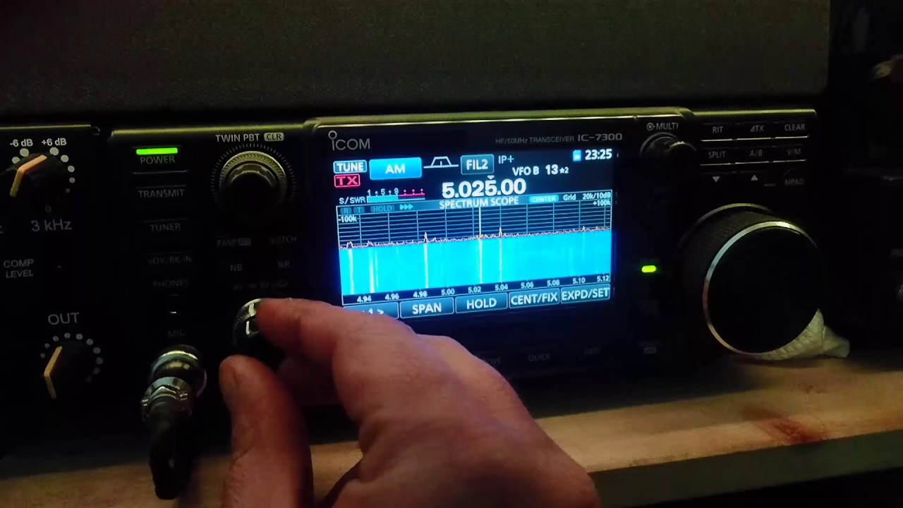 Icom ic-7300 vs sdrplay rsp1