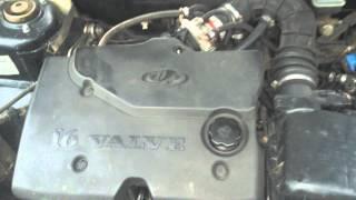 Стук в двигателе 21124
