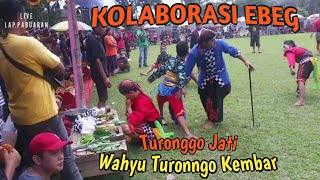 Janturan Ebeg Kuda Lumping, Turonggo Jati Feat Wahyu Turonggo Kembar