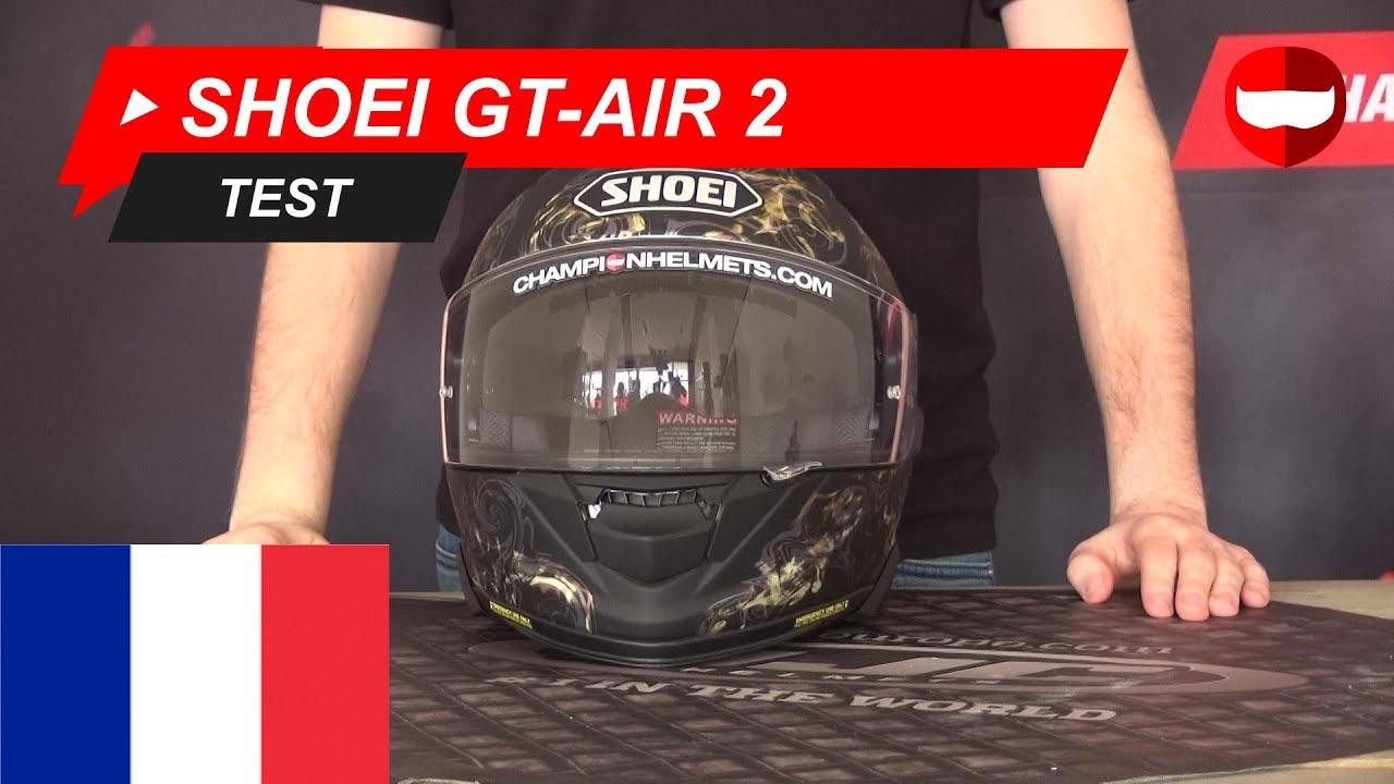 Test Casque Shoei Gt Air 2 Championhelmetscom Youtube