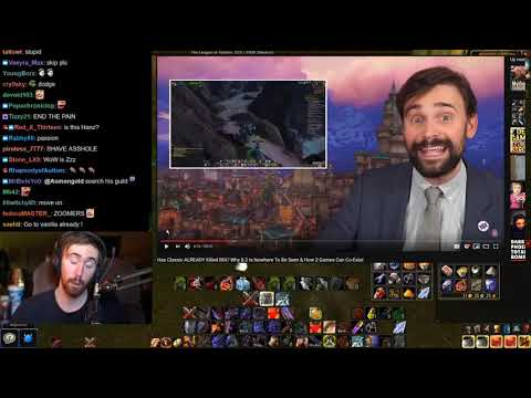 Asmongold Reacts To Has Classic ALREADY Killed BfA By Taliesin And Evitel