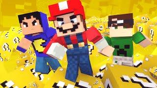 Minecraft: DESAFIO DO MARIO! (Série Desafios)
