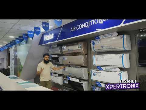 Haier DC Inverter Air Conditioner Latest Models 2020 HSU 18, 12, HD, HFAB, HFCA, HFCE, HRO, HRV, HRW