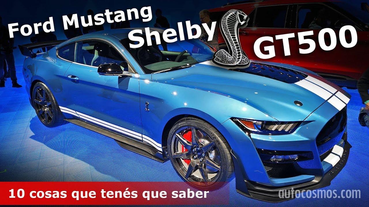 Ford mustang shelby gt500 vuelve la leyenda autocosmos