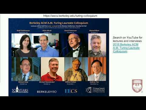 UChicago CS Open House: Keynote Address By David A. Patterson