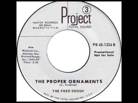 The Free Design - The Proper Ornaments (mono version)