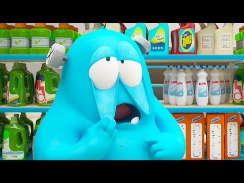 Funny Animated Cartoon | Spookiz Brand New Frankies Grocery Store Nightmare | Cartoon for Children