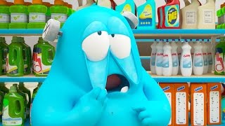 Funny Animated Cartoon | Spookiz Brand New Frankies Grocery Store Nightmare | Videos For Kids