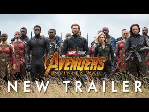 Marvel Studios' Avengers: Infinity War - Official Trailer: In theaters April 27. Get your tickets now: http://www.fandango.com/infinitywar  Find out more on Marvel.com - http://bit.ly/2Iv6ouB  Follow Marvel on Twitter: ?https://twitter.com/marvel Like Marvel on Facebook: ?https://www.facebook.com/Marvel  For even more news, stay tuned to: Tumblr: ?http://marvelentertainment.tumblr.com/ Instagram: https://www.instagram.com/marvel Google+: ?https://plus.google.com/+marvel Pinterest: ?http://pinterest.com/marvelofficial