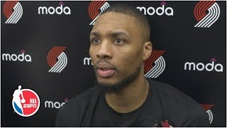 Damian Lillard: We have to protect home court in Game 3 | 2019 NBA Playoffs