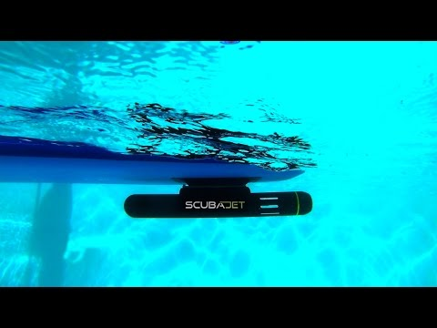 SCUBAJET. Most versatile electric water sports jet-engine